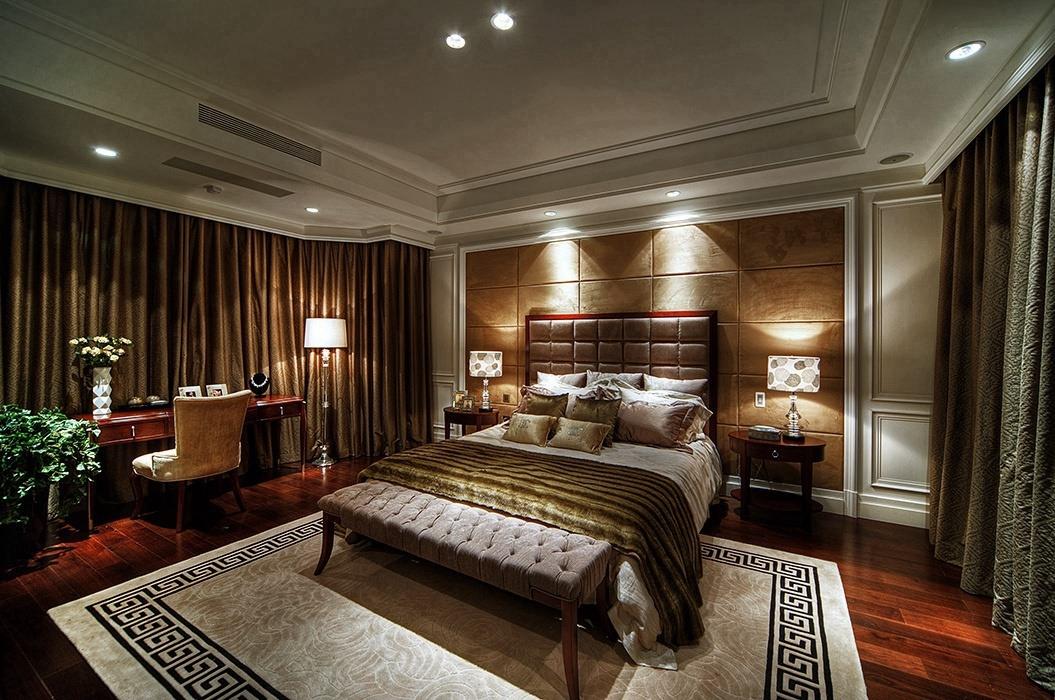 288平米卧室背景墙装修效果图