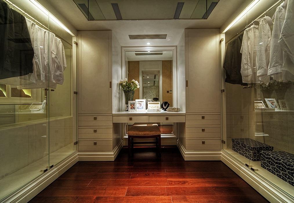 288平米衣帽间衣柜家装案例