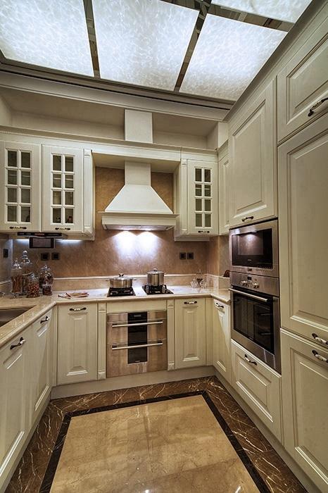 288平米厨房橱柜家装效果图