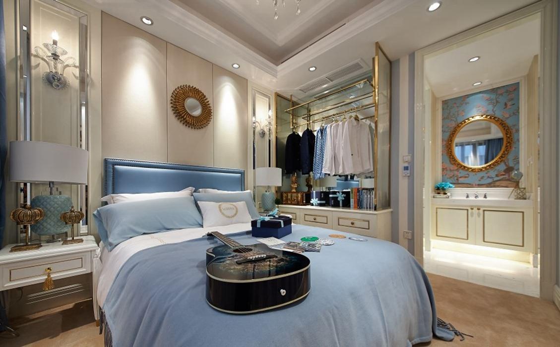 150平米卧室衣柜案例图