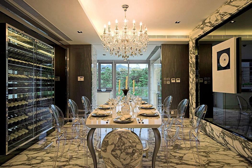 366平米餐厅背景墙家装设计