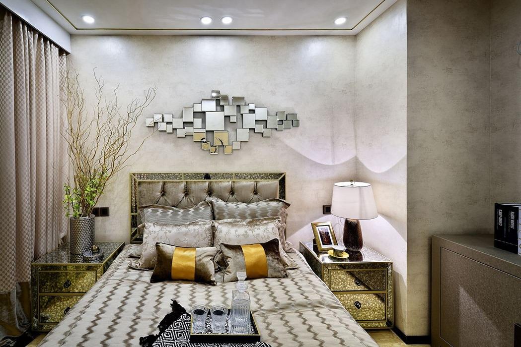 368平米卧室背景墙效果图