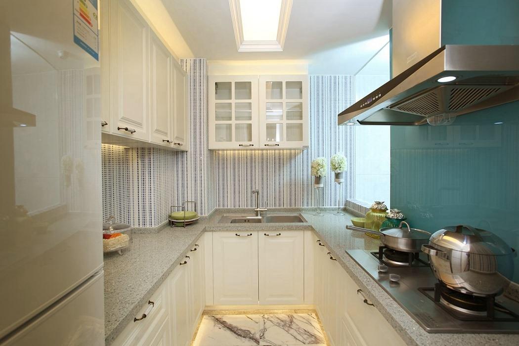 欧式风格厨房家装实例图