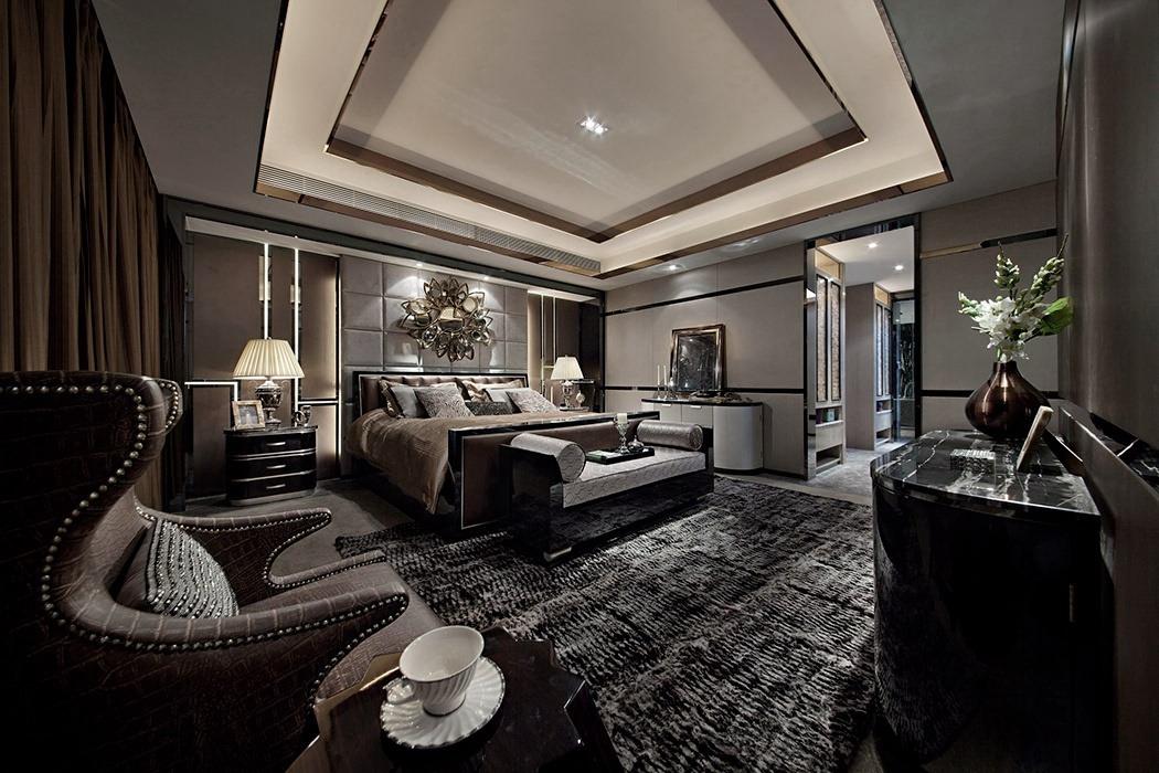 400平米卧室背景墙家装图片