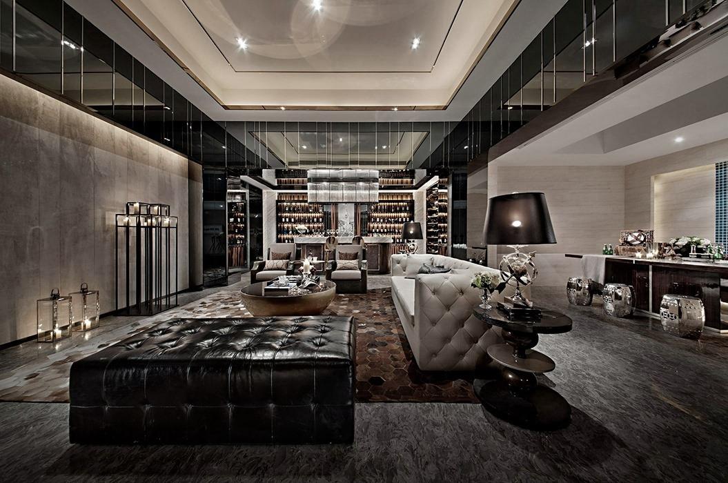 后现代风格客厅家装案例