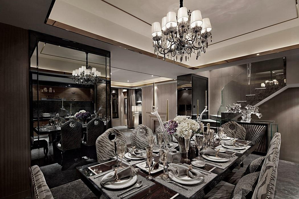 后现代风格餐厅灯饰/照明装修效果图