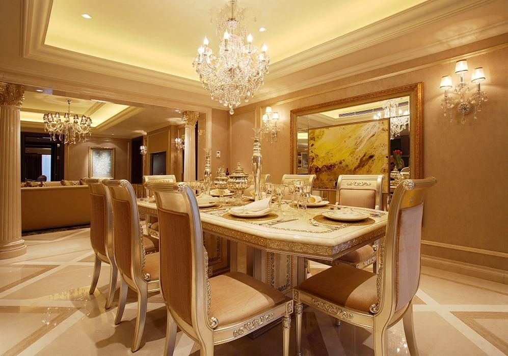 157平米餐厅灯饰/照明家装实例图