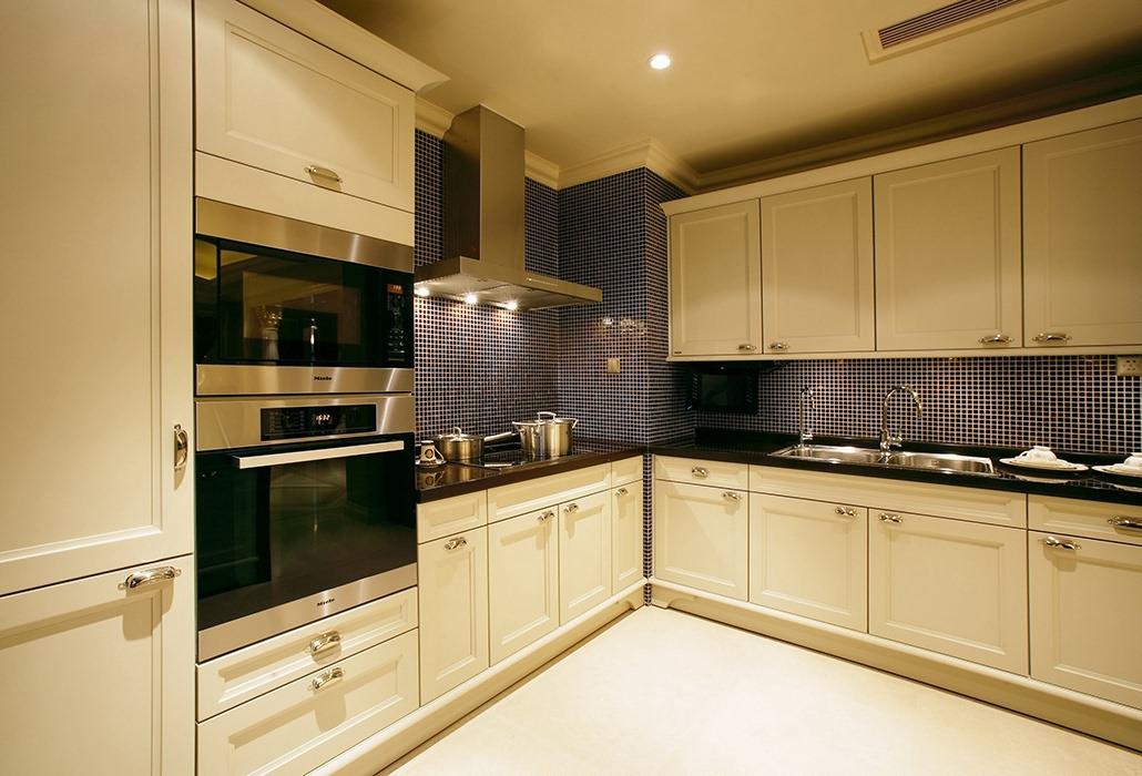 157平米厨房橱柜家装图片