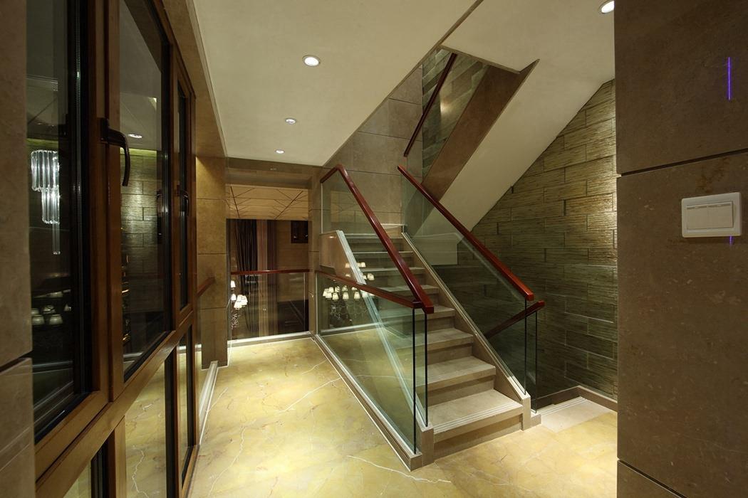 后现代风格过道/门厅楼梯效果图
