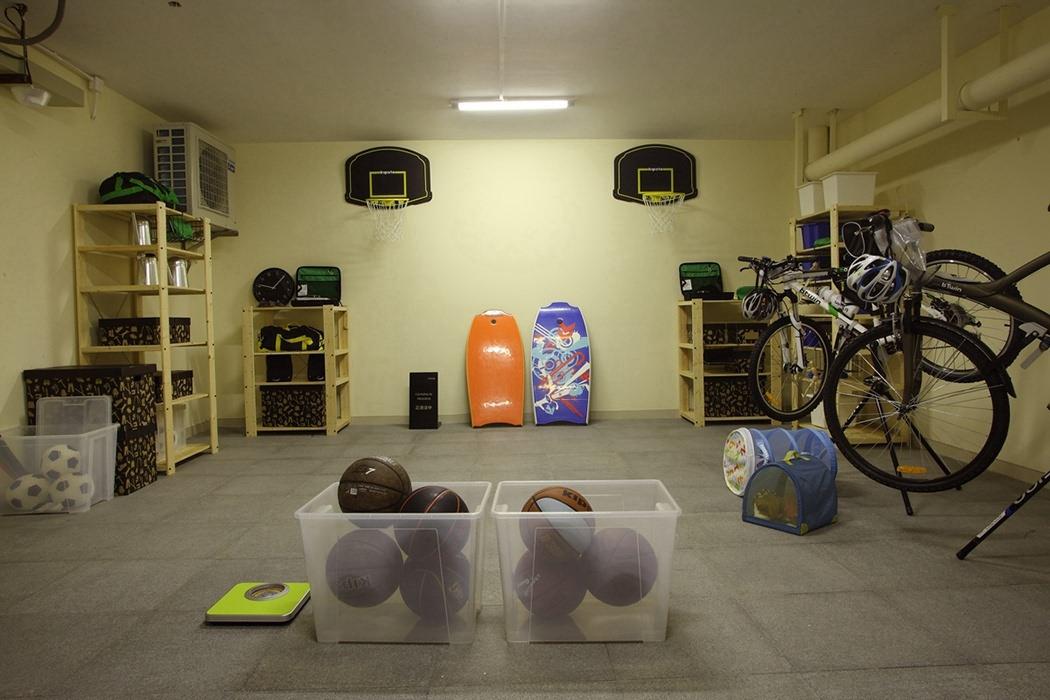 418平米休闲区储藏间设计