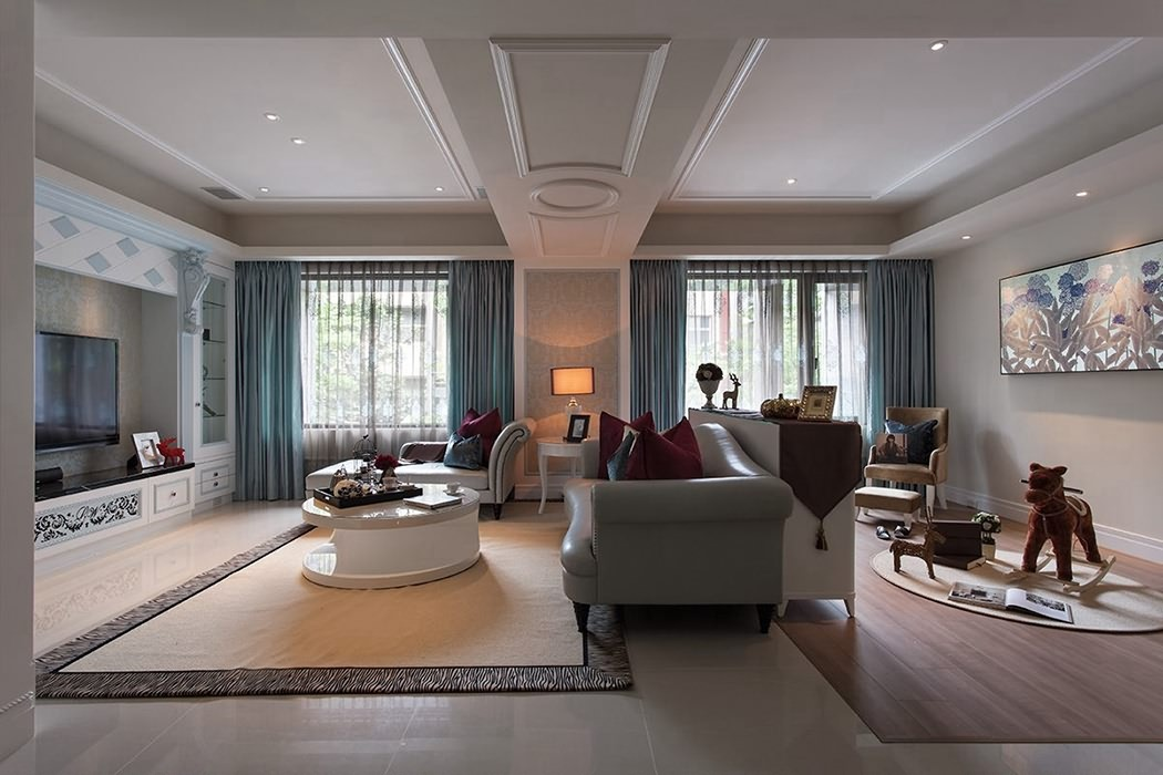 四居室客厅家装案例图