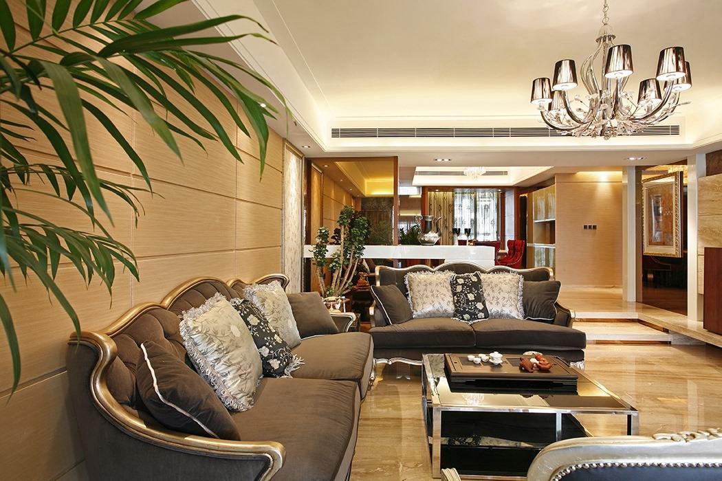 欧式风格客厅家装效果图