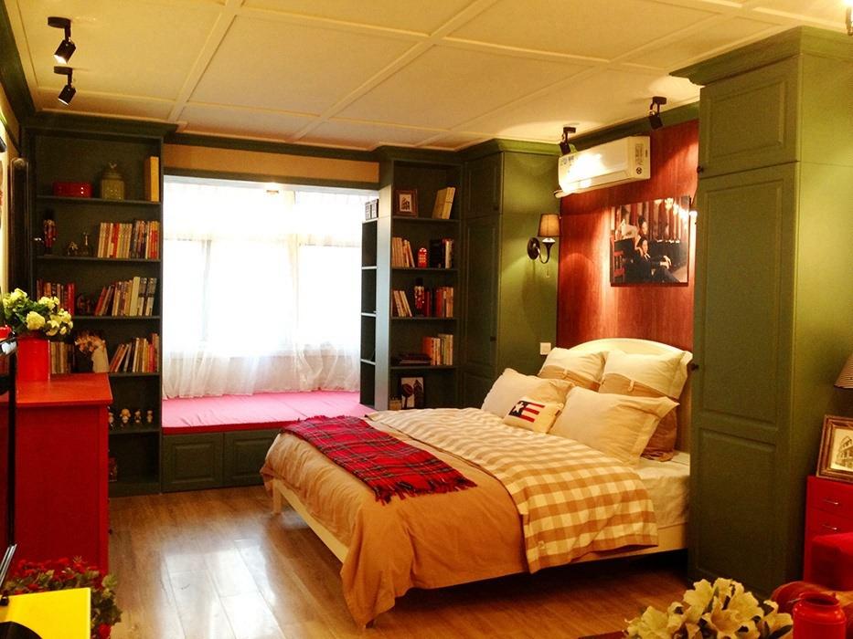 71平米卧室背景墙室内设计图