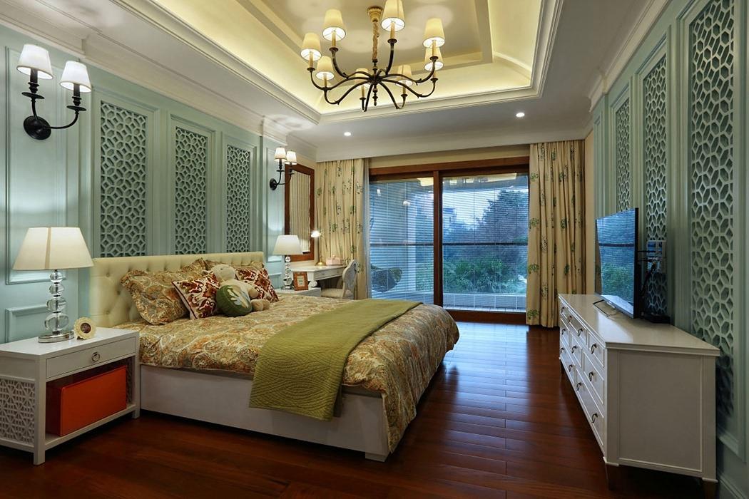450平米卧室背景墙图片