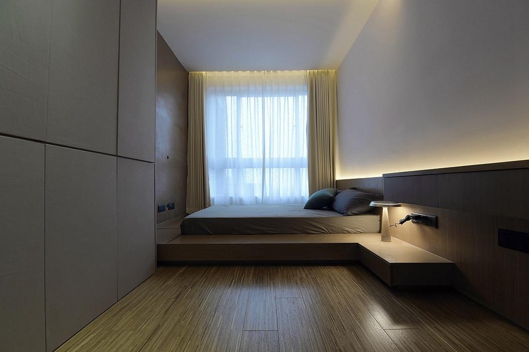 三居室卧室案例图